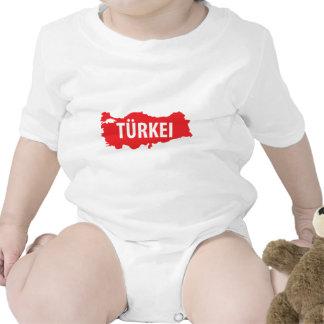 El kontur de Tuerkei zeichen Trajes De Bebé