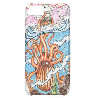 El Kraken Funda Para iPhone 5C