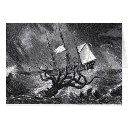 El Kraken Tarjeta