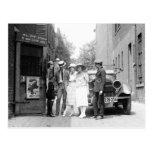 El Krazy Kat Speakeasy, 1921 Tarjeta Postal