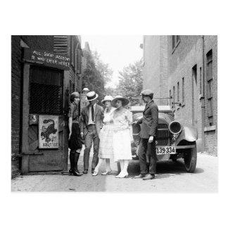 El Krazy Kat Speakeasy, 1921 Postal