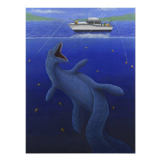 El Kronosaurus interrumpe un viaje de pesca Impresiones