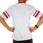 El KRW embroma la camiseta rayada del personalizad