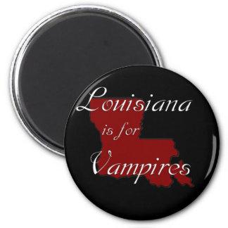 El KRW Luisiana está para los vampiros Imán De Frigorífico