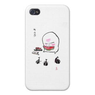 el kun del nuppera come watermelon-2 iPhone 4 fundas