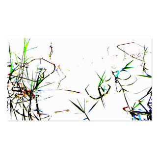 El l abstracto tarjeta de la naturaleza de visita  tarjetas de visita