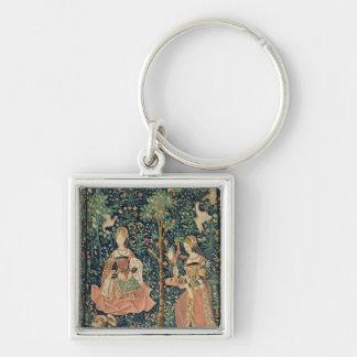 El La compite Seigneuriale: Bordado, c.1500 Llavero