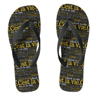El La de C'est compite las sandalias