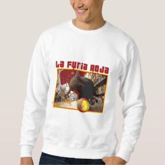 El La Furia Roja Raging Bull Futbol defiende 2008 Sudadera