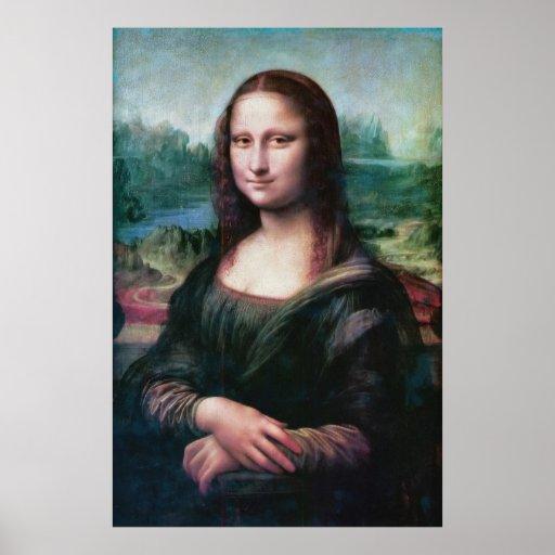 El La Gioconda de Joconde del La de Mona Lisa por Póster