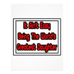 Él la hija más grande… del mundo fácil de Aint Tarjetones