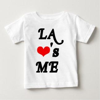 El LA me ama - Los Ángeles Playera De Bebé