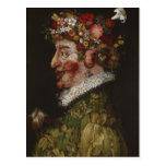 El La Primavera (1563) de Giuseppe Arcimboldo Tarjetas Postales