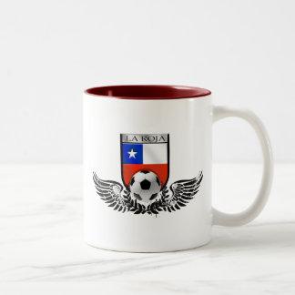 El La Roja se fue volando el escudo para las fans  Taza Dos Tonos