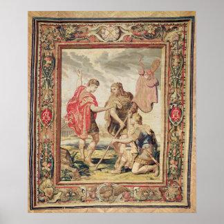 El lábaro, antes de 1663 impresiones