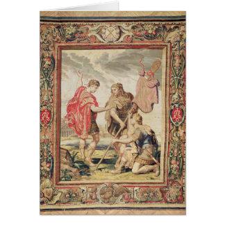 El lábaro, antes de 1663 tarjetón