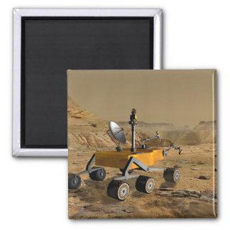 El laboratorio de ciencia de Marte viaja cerca de  Imán Para Frigorífico