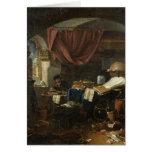 El laboratorio del alquimista tarjeta de felicitación