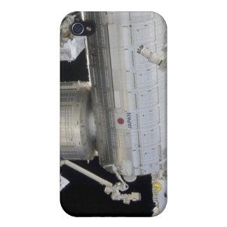 El laboratorio japonés 2 de Kibo del módulo del iPhone 4/4S Funda