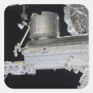 El laboratorio japonés 2 de Kibo del módulo del Pegatina Cuadrada