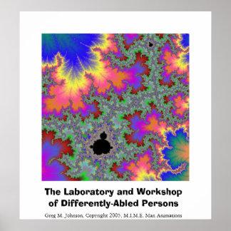 El laboratorio y el taller de Differently-Abled. Póster