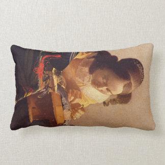 El Lacemaker de Juan Vermeer Almohadas