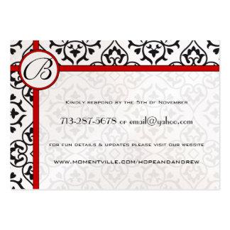 El lado confina sus tarjetas del Web site de la re