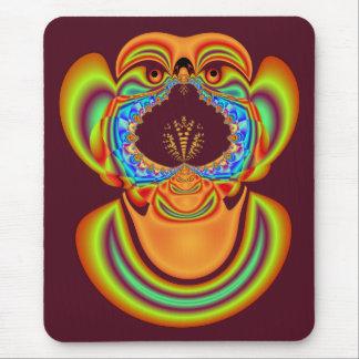 El lado feo de los fractales Mousepad Alfombrilla De Ratón