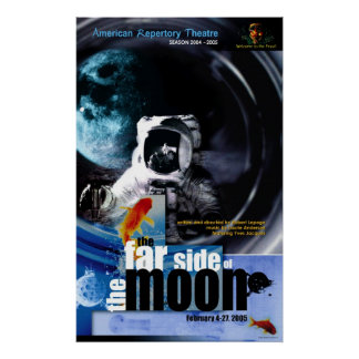 el lado lejano de la luna póster