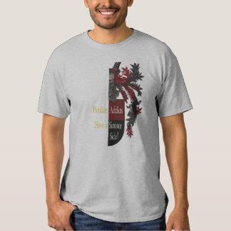 El lado siniestro de la heráldica camisas