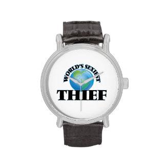 El ladrón más atractivo del mundo relojes