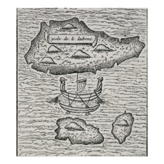 El Ladrones', de Pigafetta de Amoretti Posters