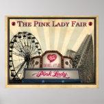El Lady® rosado justo Impresiones