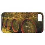 El lagar de Kiralyudvar: Barriles con el vino de iPhone 5 Carcasas