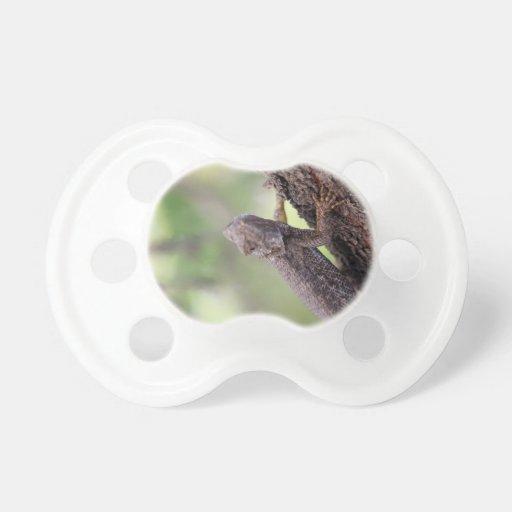 El lagarto amistoso chupetes de bebé