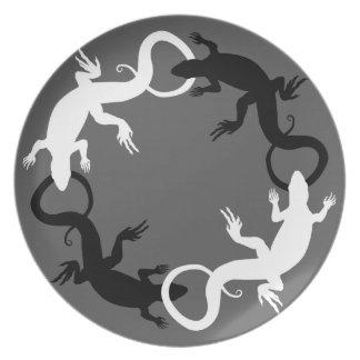 El lagarto platea los regalos del lagarto de las p platos