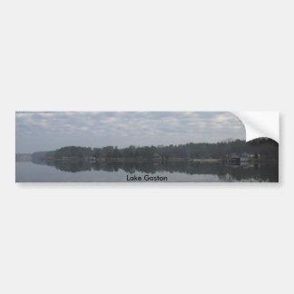 El lago (2), lago Gastón Pegatina Para Auto