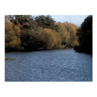 El lago 2 postales