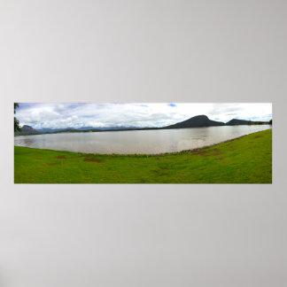 El lago Australia Póster