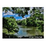 El lago, Central Park Tarjetas Postales