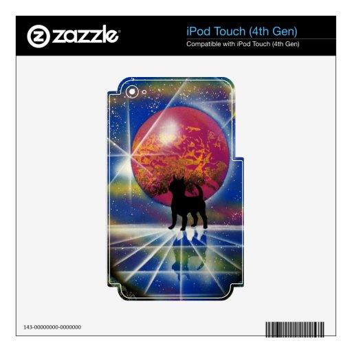 El lago cristalino chihuahua's iPod touch 4G skin