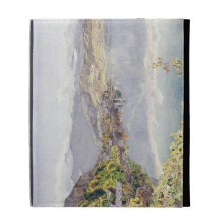 El lago de Alfalfa, soporte Pilatus en la distanci