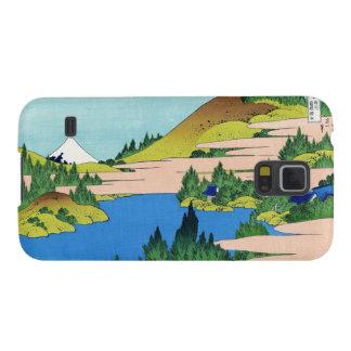 El lago de Hakone en la provincia Hokusai de Funda Para Galaxy S5