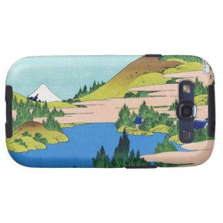El lago de Hakone en la provincia Hokusai de Segam Samsung Galaxy S3 Protector