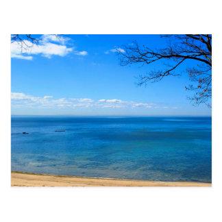 El lago Erie, Ontario, Canadá, postal del jjhelene