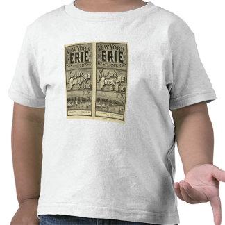 El lago Erie y ferrocarril occidental Camiseta