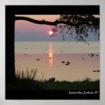 El lago Hurón Impresiones