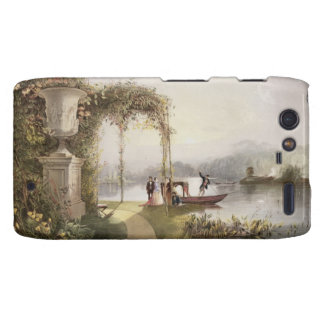 El lago, jardines de Trentham Pasillo, 'de los jar Motorola Droid RAZR Carcasa