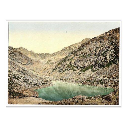 El lago largo (es decir, Langer ve) en Felkaer (es Tarjeta Postal