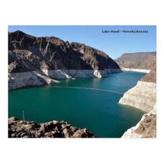 El lago Mead cerca del Preso Hoover Postal